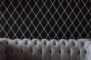 papel de parede sala sofa