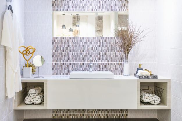 decoração de luxo - banheiro