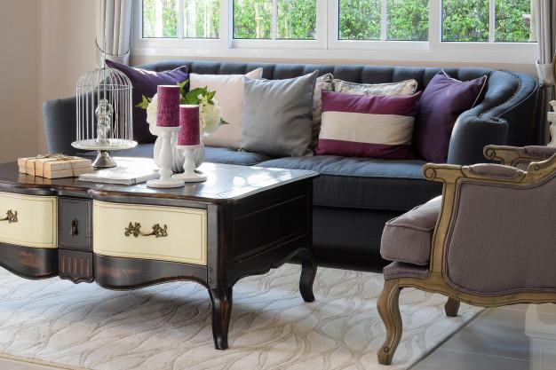 decoração de luxo - móveis