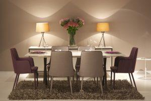 decoração de luxo - sala de jantar