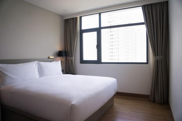 importância da cortina blackout em quartos - privacidade