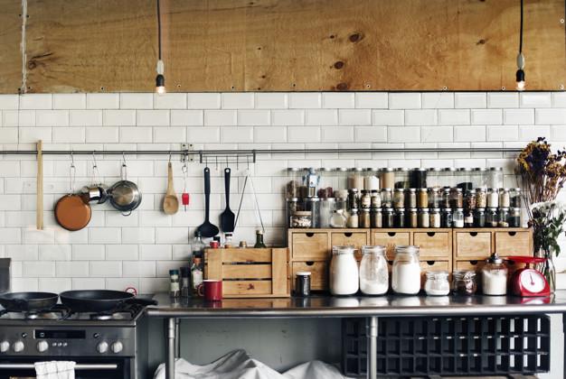 decorar a cozinha para a família - utensílios