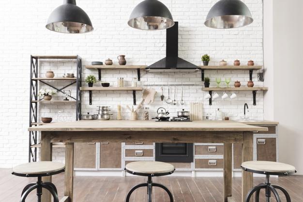 decorar a cozinha para a família